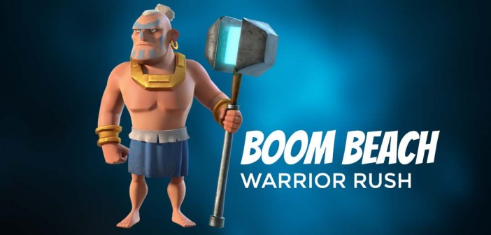 Boom Beach Warrior Rush