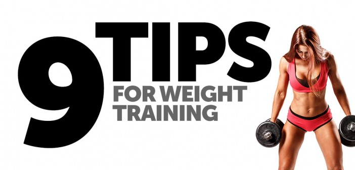 9 Tips for Weight Training