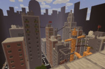 Minecraft Map - Buildings